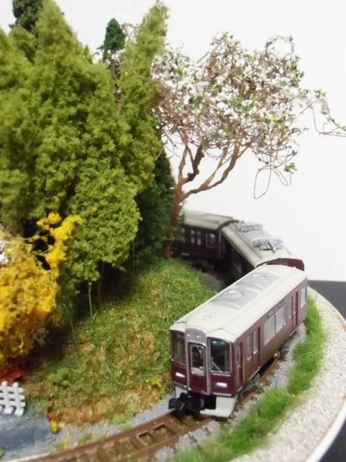 盆ラマ新作「桜と阪急電車」_f0227828_2214264.jpg