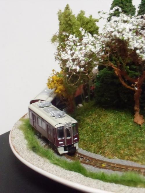 盆ラマ新作「桜と阪急電車」_f0227828_22143247.jpg