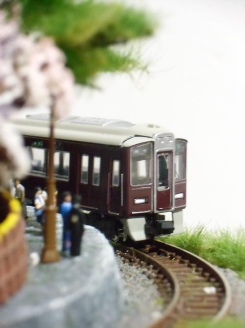 盆ラマ新作「桜と阪急電車」_f0227828_22143931.jpg