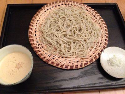 夏は冷たいお蕎麦です‼_b0132442_1644429.jpg