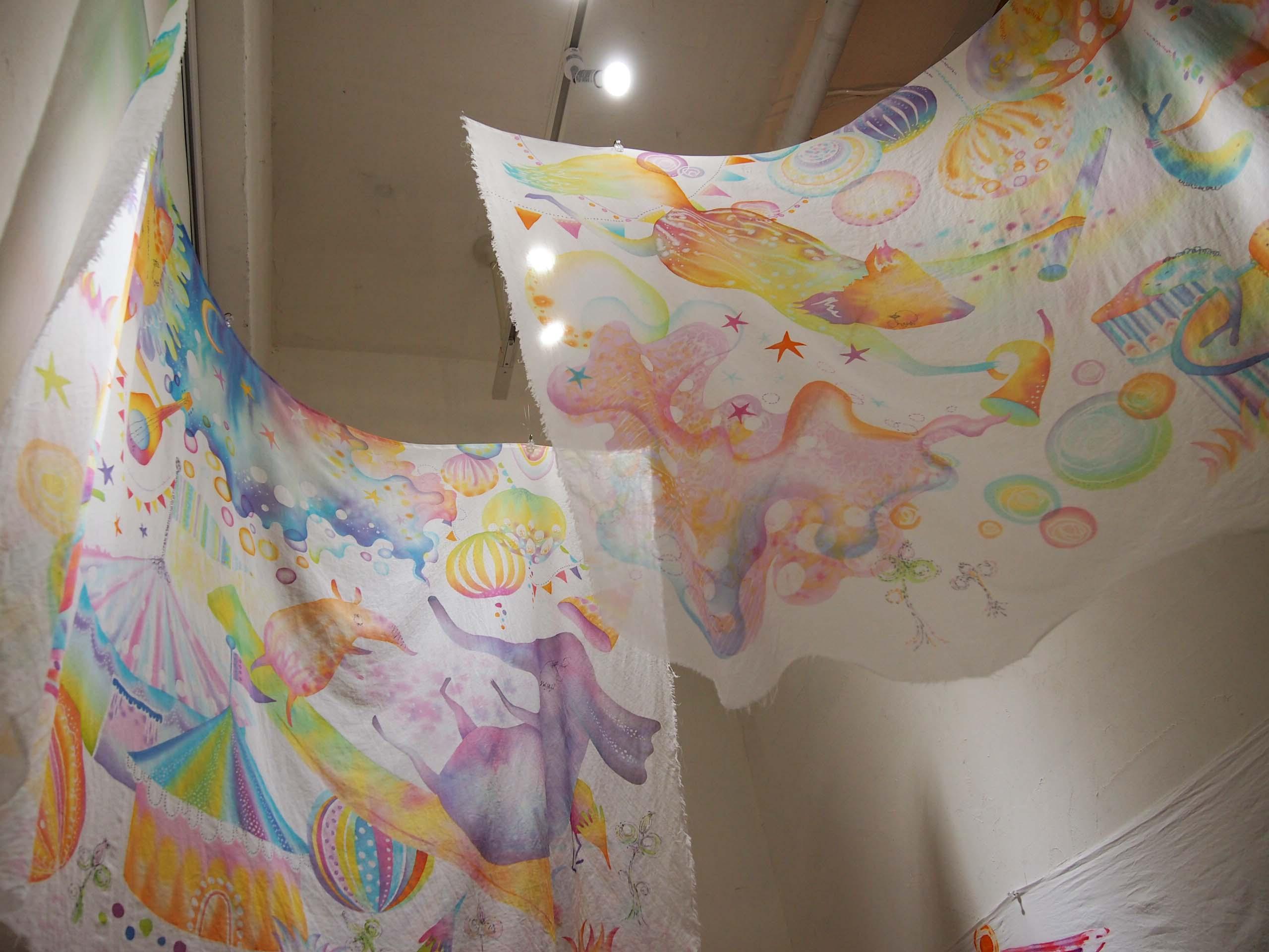 染めモノ教室の初夏展@4日目_e0272050_18241976.jpg