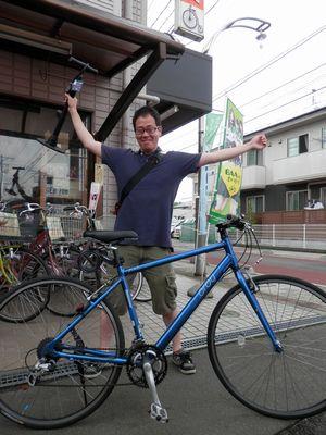 中古車 ブリヂストン オルビー 700cクロスバイク_e0140354_11465040.jpg