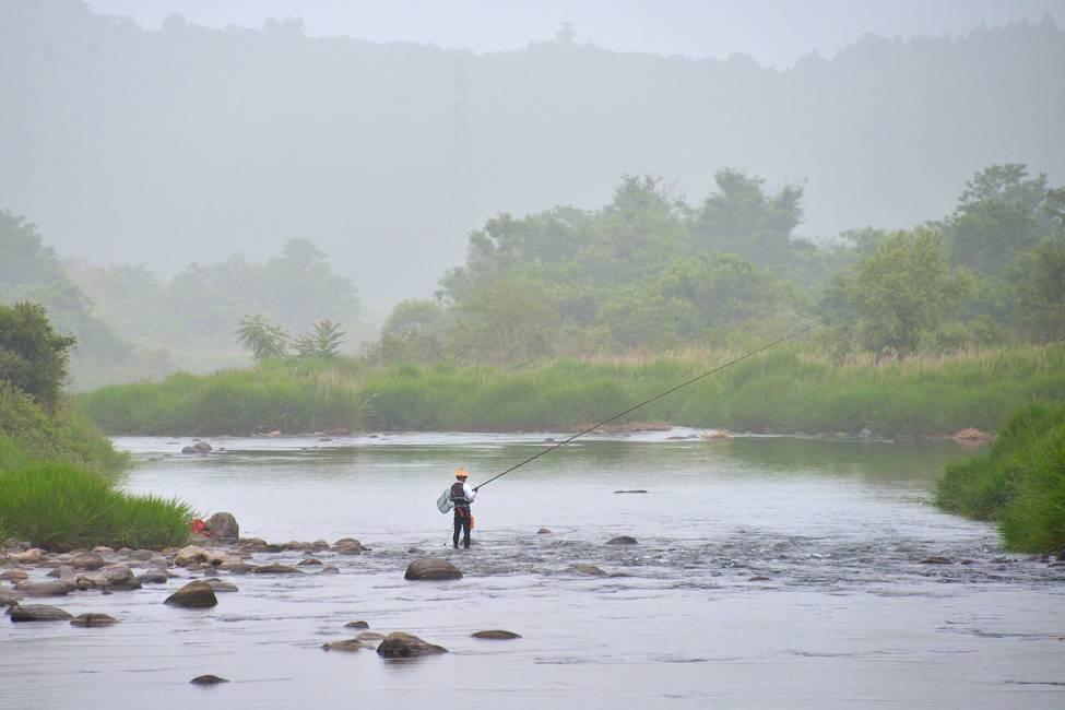 鮎魚解禁(7月1日白石川)_b0223668_6522674.jpg