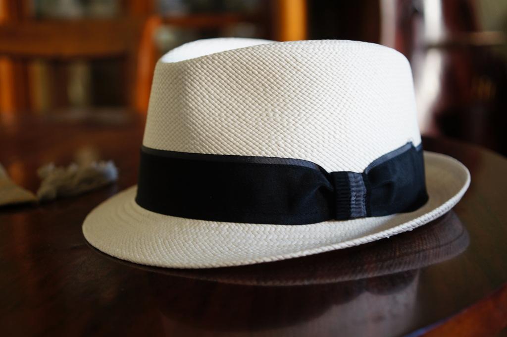 パナマ帽。_c0180686_16414230.jpg