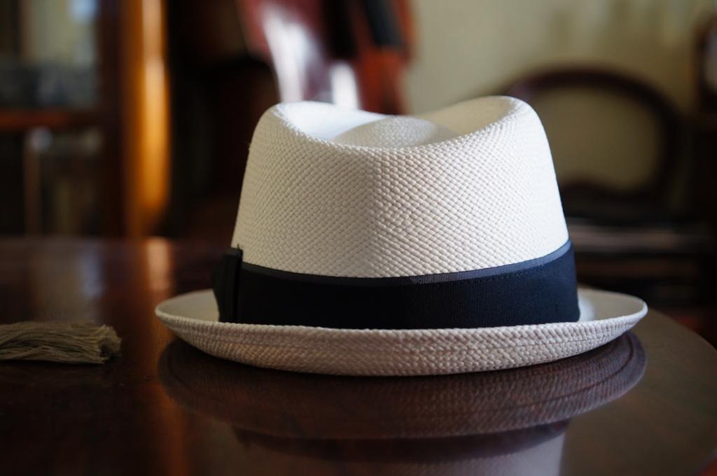 パナマ帽。_c0180686_16421797.jpg