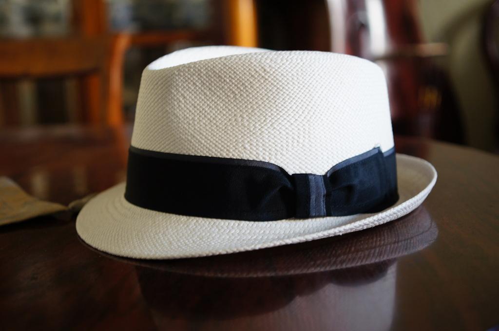 パナマ帽。_c0180686_16423218.jpg