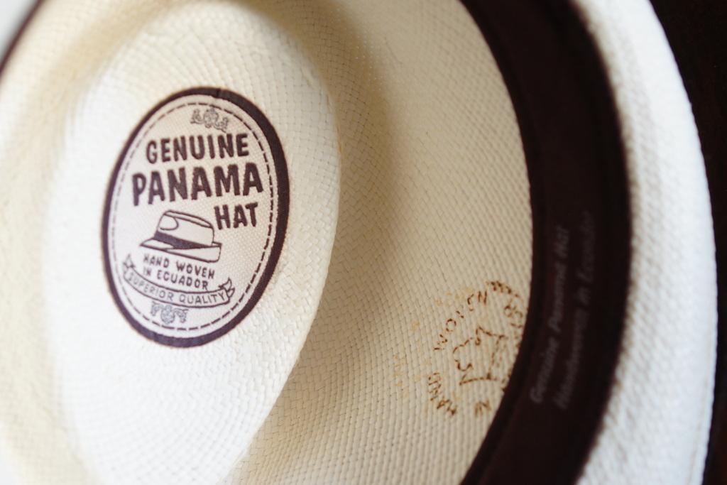 パナマ帽。_c0180686_164243.jpg