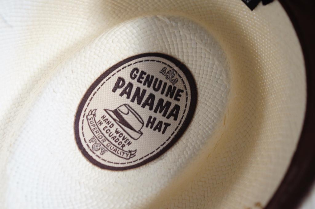 パナマ帽。_c0180686_16432357.jpg