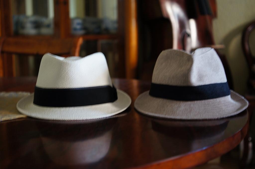 パナマ帽。_c0180686_1643332.jpg