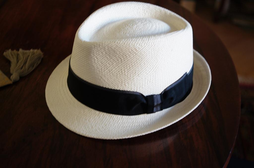 パナマ帽。_c0180686_16434062.jpg