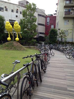 駐輪場 港区赤坂 : パン教室 ...