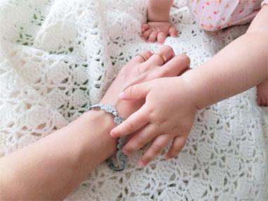 赤ちゃんも安心『クルチアーニ』の可愛いブレス♪_d0224894_1534262.jpg