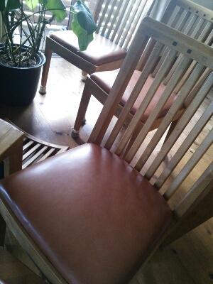 椅子の張り替え_e0170128_20165418.jpg