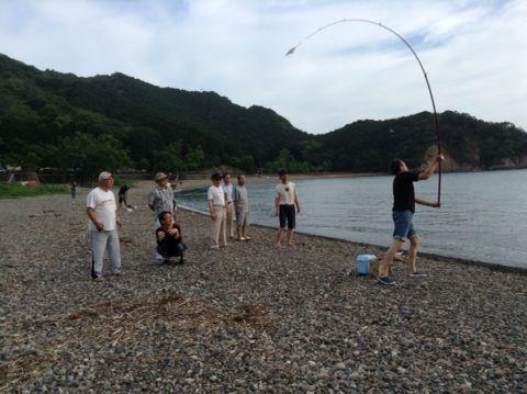 今年初のタコ釣り!_a0103759_22491251.jpg