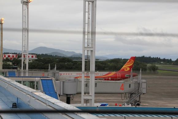 鹿児島帰郷  大阪への帰路 ANA_d0202264_6424443.jpg