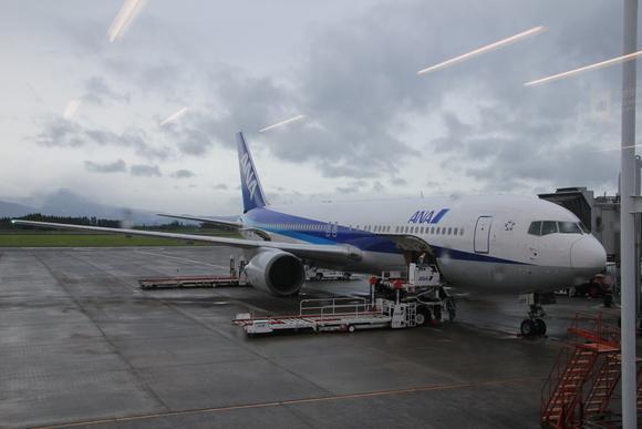 鹿児島帰郷  大阪への帰路 ANA_d0202264_654222.jpg