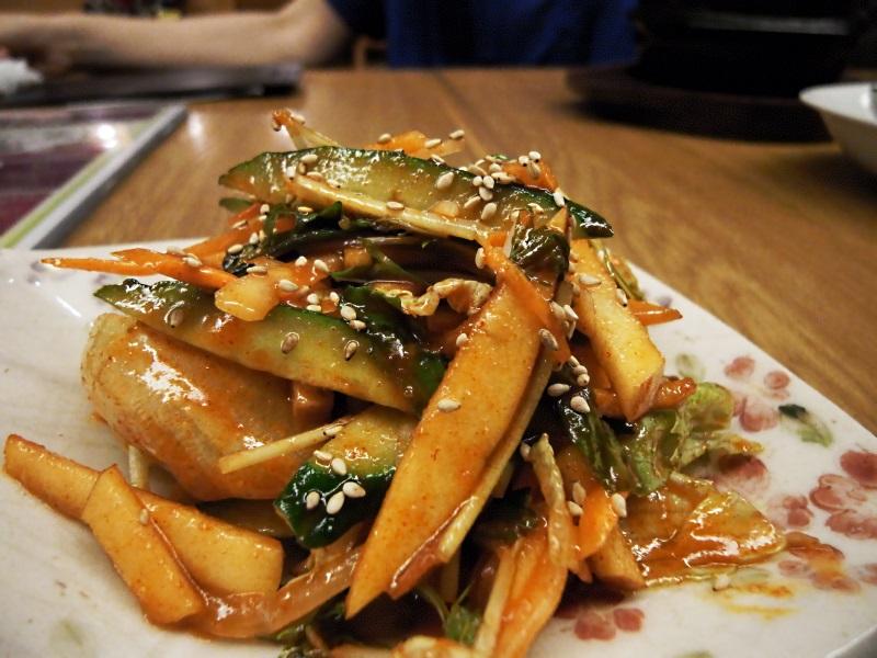 癒しの参鶏湯  〔チング/韓国料理/千里中央〕_f0195971_16433377.jpg