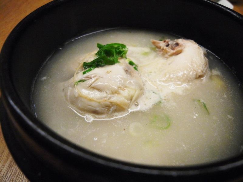 癒しの参鶏湯  〔チング/韓国料理/千里中央〕_f0195971_16453649.jpg