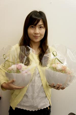 本番用生花ブーケや、贈呈用・リングピローなど_c0198981_23244832.jpg