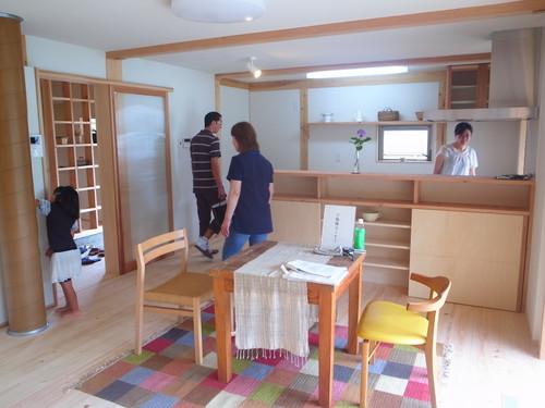 ki-bako-mousse 完成見学会終了_d0087595_19524862.jpg