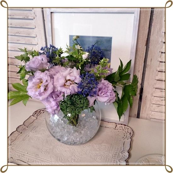 Le vase7月レッスン_b0137412_1484440.jpg