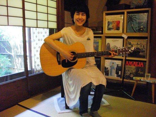 安藤明子「12」リリース記念・ここはどこかツアー 京都編_e0230141_13563585.jpg