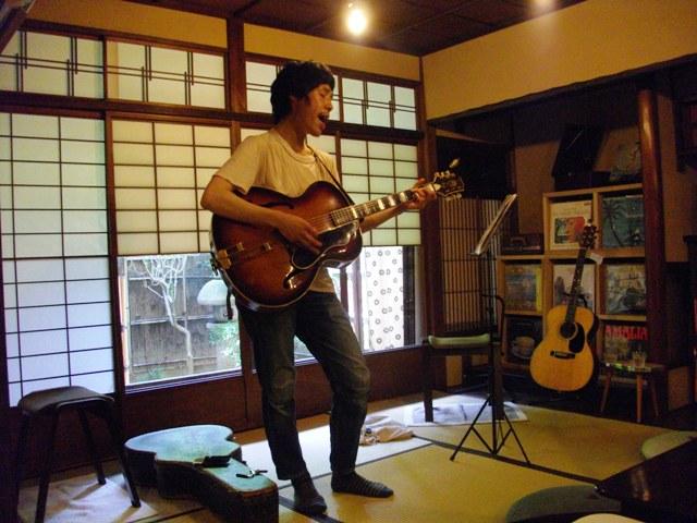 安藤明子「12」リリース記念・ここはどこかツアー 京都編_e0230141_13571564.jpg
