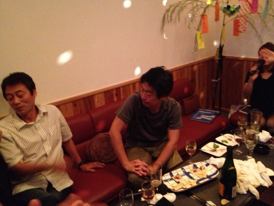 野尻先生&濱口先生を囲む会 in とり重さん_c0110051_17434065.jpg