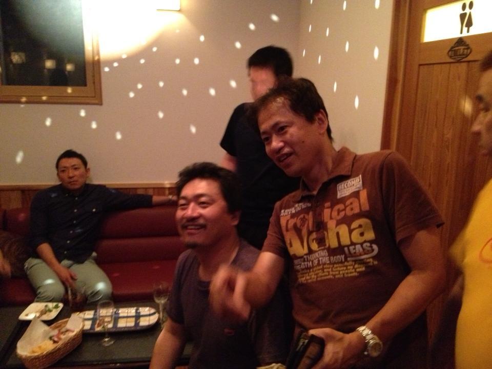 野尻先生&濱口先生を囲む会 in とり重さん_c0110051_1744393.jpg