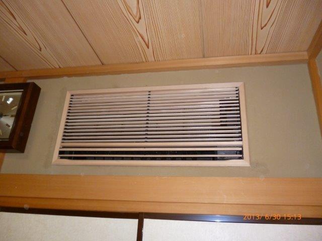 四方吹出し天井埋込エアコンの入替 2_e0207151_1340535.jpg