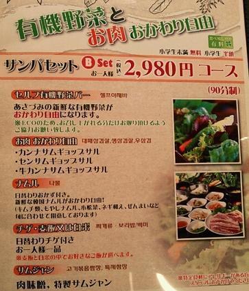 新大久保で有機野菜(サンパ)を楽しむ_b0060363_17261897.jpg