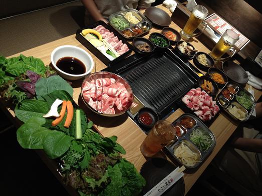 新大久保で有機野菜(サンパ)を楽しむ_b0060363_17281275.jpg