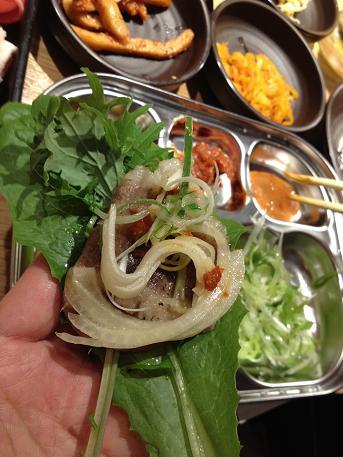 新大久保で有機野菜(サンパ)を楽しむ_b0060363_17334337.jpg