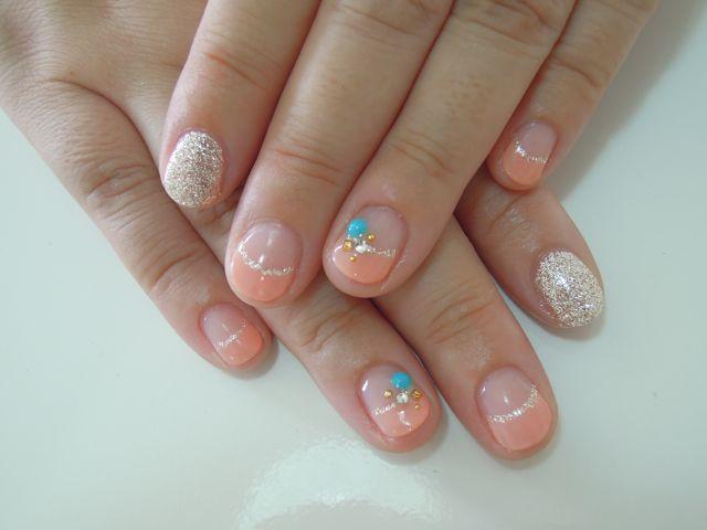 Pickup Nail~Orange_a0239065_142049.jpg