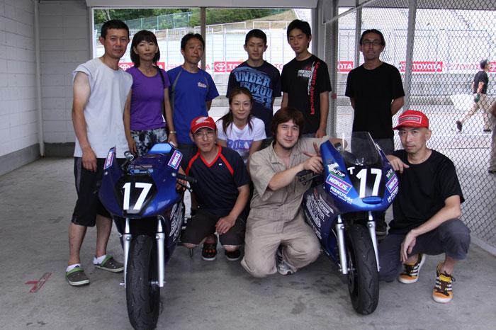 2013 SUGOミニバイク6時間耐久レース②_d0067418_1436035.jpg