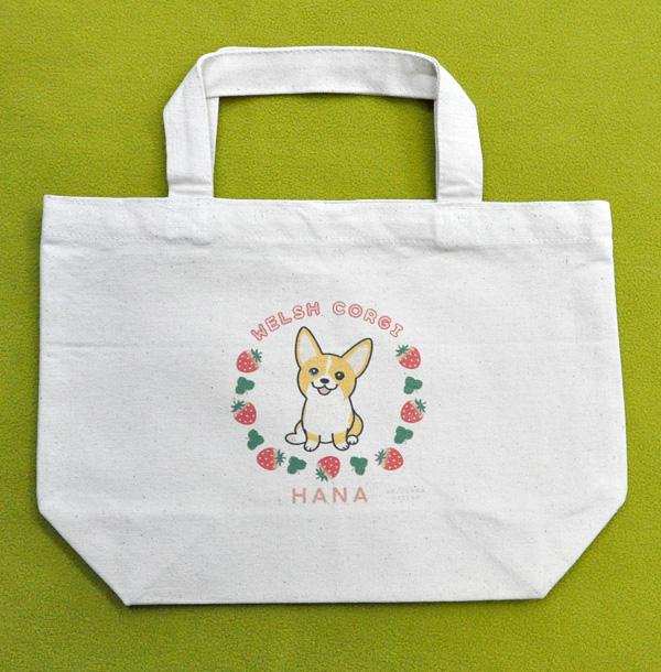 平吉くん・ねねちゃん・はなちゃんのキャンバスバッグと、はなちゃんお散歩トート_d0102523_074197.jpg