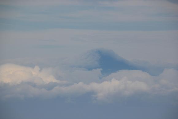世界遺産 富士山を大空から見て_d0202264_4573839.jpg
