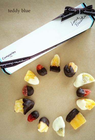 Compartes chocolatier  コンパーテスショコラティエ ラブフルーツ_e0253364_16222764.jpg