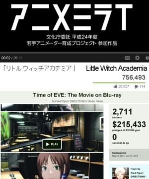 日本のアニメ「リトルウィッチアカデミア」がキック・スターターで資金集めに大成功中_b0007805_12223881.jpg