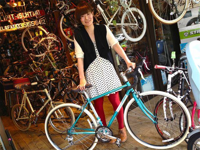 今日のバイシクルガール ☆二本立て☆ 自転車 女子 RALEIGH JAMIS_b0212032_2115380.jpg