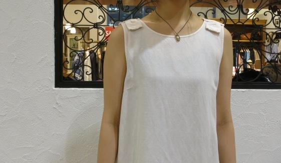 暑いときは、一枚できれいな洋服がいいなぁ~_c0227633_20495037.jpg