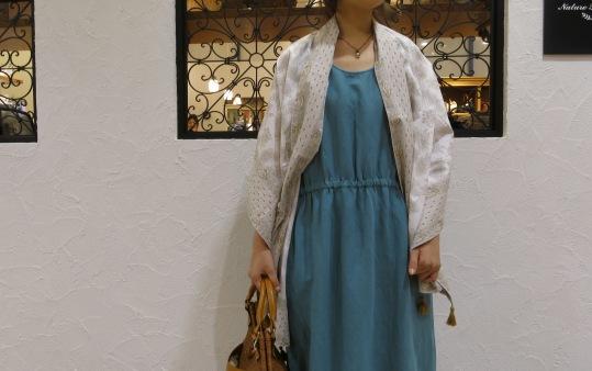暑いときは、一枚できれいな洋服がいいなぁ~_c0227633_20541155.jpg