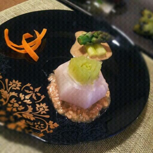 小蕪の肉味噌餡_b0252508_19324635.jpg