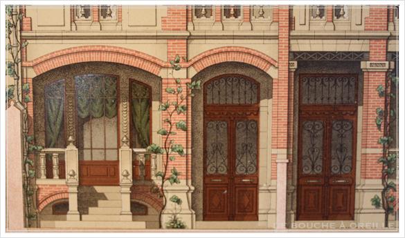 ancien dessin d\'architecture 古い建築図面 ファサード_d0184921_1737464.jpg