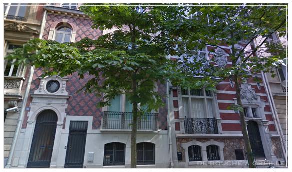 ancien dessin d\'architecture 古い建築図面 ファサード_d0184921_18114936.jpg