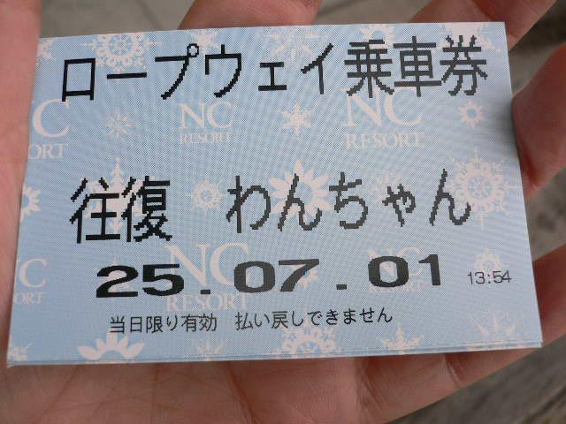 ワンコとお出掛け 琵琶湖バレイ ドッグラン_c0223630_1535521.jpg