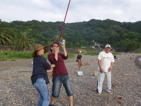 今年初のタコ釣り!_a0103759_17385991.jpg