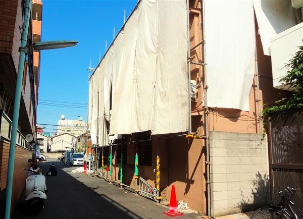 「浅草の二世帯住宅」解体工事_f0230666_22581770.jpg