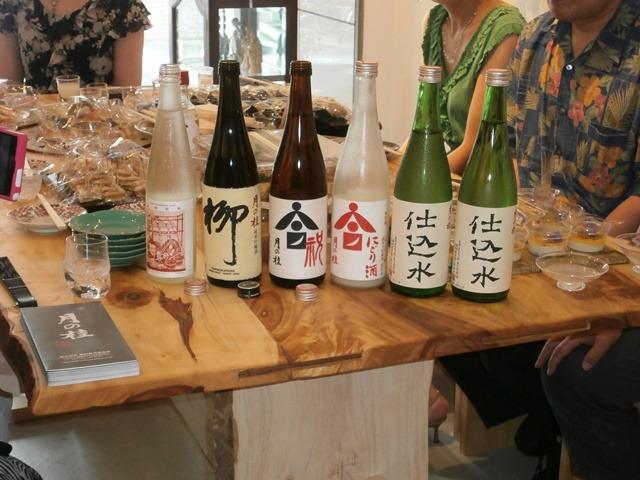 水とダンディズム (7/5・「日本酒の会」にて)_a0254818_10232824.jpg