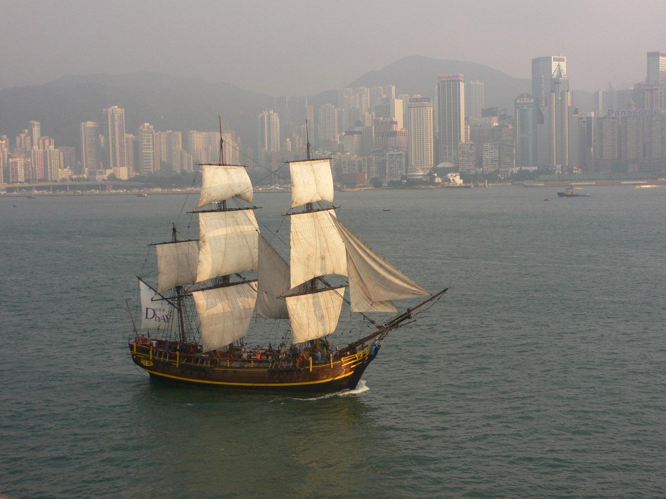 船・ふね・フネ: カティ〜サ〜~ク~〜♪(香港)_a0249132_19401052.jpg